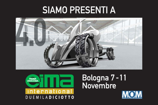 MOM - agriculture machines Verona - at Eima international 2018