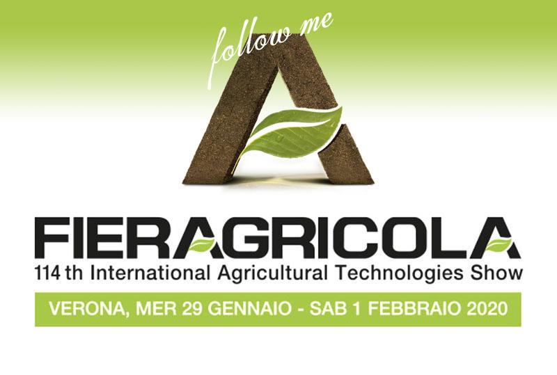 MOM - agriculture machines Verona - at Fieragricola 2020 [foto stand fiera]