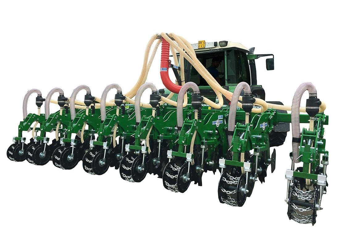 STRIP HAWK EASY TELESCOPICA - MOM Officine Meccaniche Verona - Macchine agricole