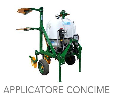 APPLICATORE CONCIME LIQUIDO - MOM Officine Meccaniche Verona - Macchine agricole