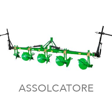 ASSOLCATORE - MOM Officine Meccaniche Verona - Macchine agricole