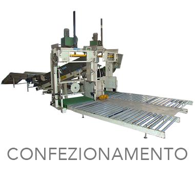 IMPIANTO DI CONFEZIONAMENTO - MOM Officine Meccaniche Verona - Macchine agricole