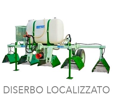 DISERBO LOCALIZZATO - MOM Officine Verona - Macchine agricole