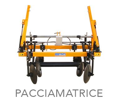 PACCIAMATRICE - MOM Officine Meccaniche Verona - Macchine agricole
